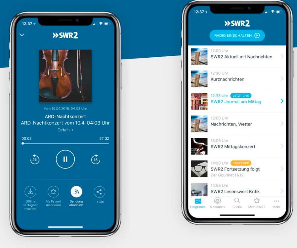 Swr2 App Neu
