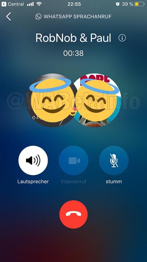 Whatsapp Gruppentelefonat