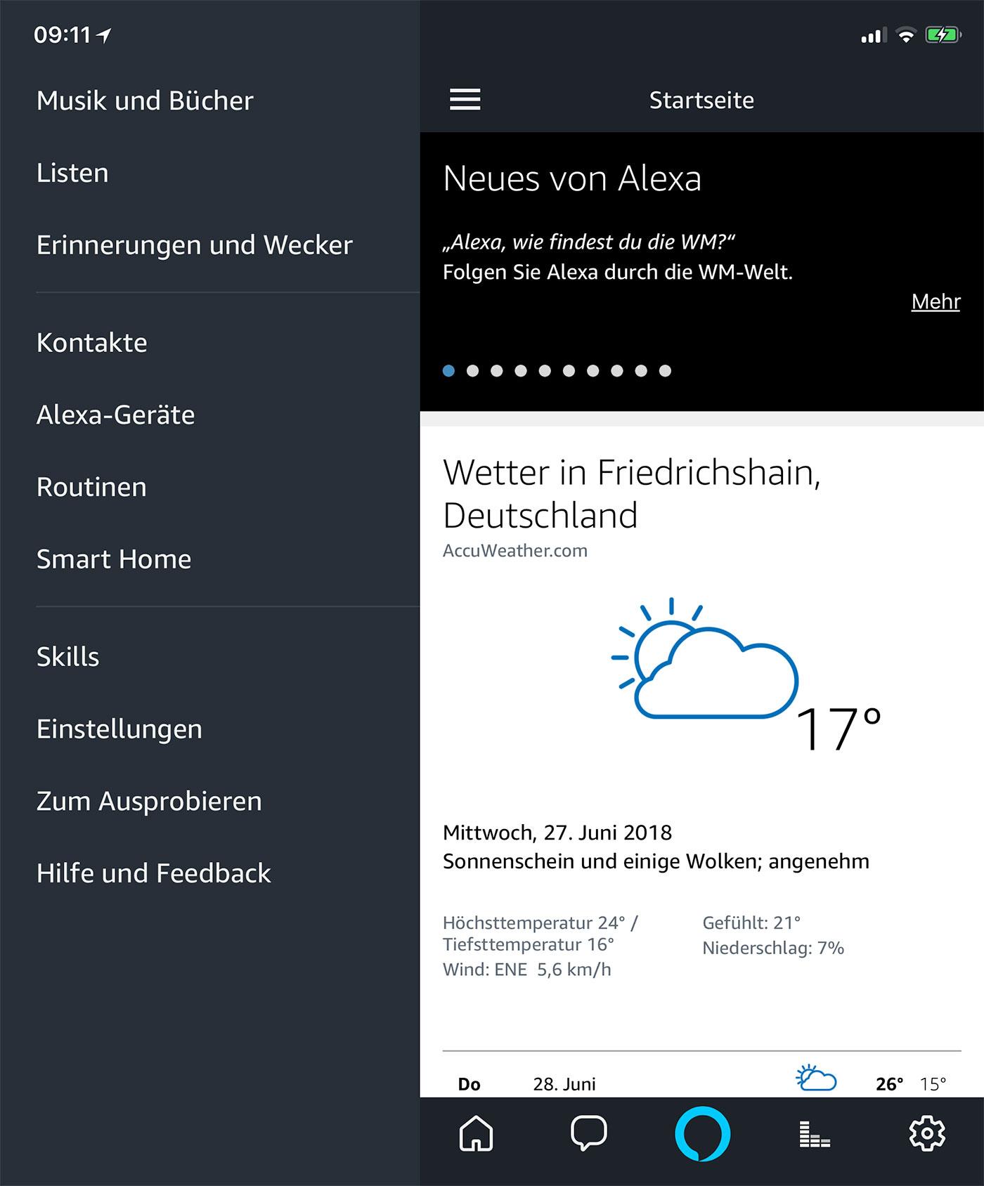 Alexa App 1400