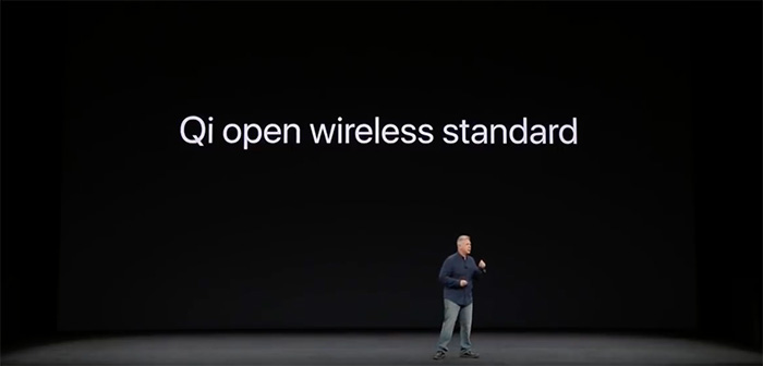 Apple Phil Schiller Announces Qi Charging