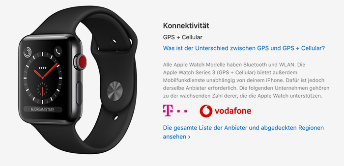 Apple Watch Series 3 Lte Vodafone