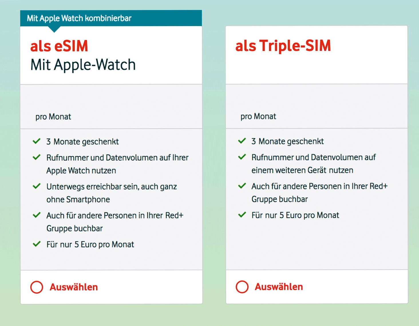 Vodafone Neue Sim Karte Kosten.Apple Watch Lte Und Esim Jetzt Bei Vodafone Erhaltlich