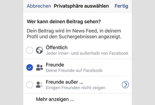 Facebook Wer Kann Einen Beitrag Sehen