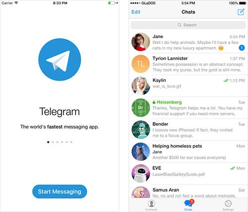 Telegram App Screenshots
