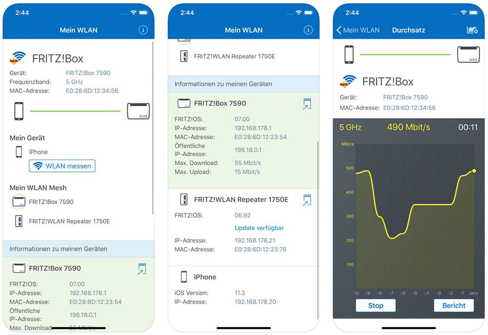 Fritz App Wlan Avm Veroffentlich Neue Iphone App Iphone Ticker De