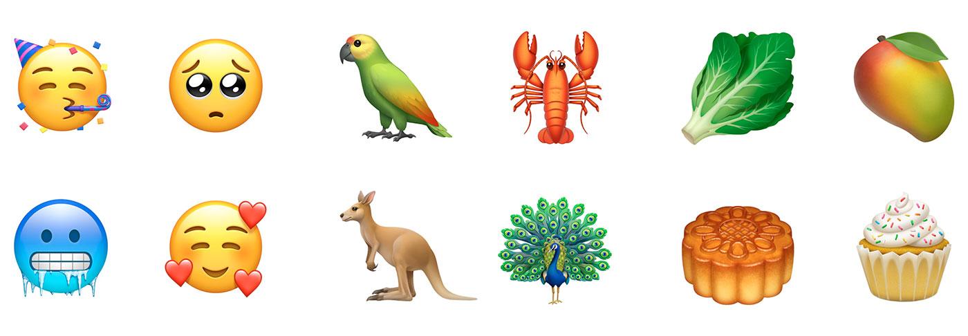 Neue Emojis