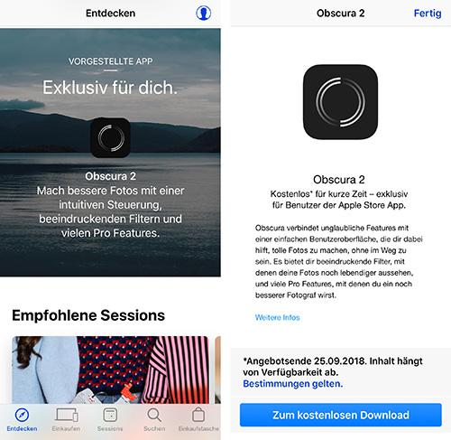 Obscura 2 In App Store App