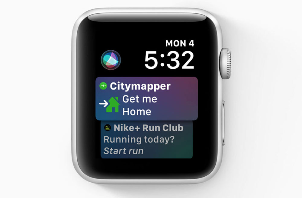 Siri Watchos5
