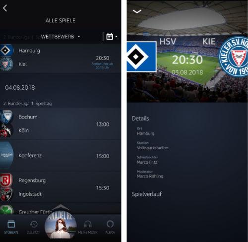 Amazon Bundesliga Audio
