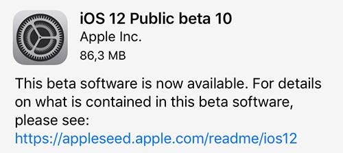 Os 12 Public Beta 10