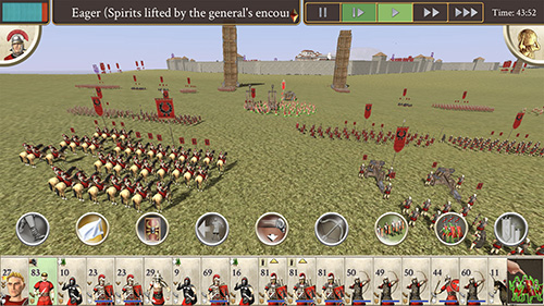 Rome Total War Iphone Screenshot