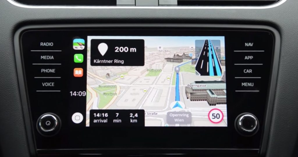 Sygic Carplay Zoom
