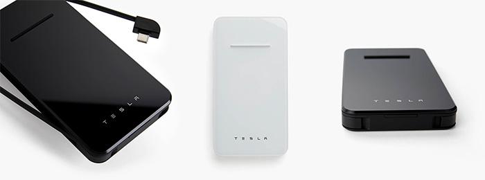 Tesla Qi Akku