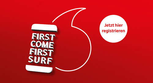 Vodafone First Come First Surf Iphone Newsletter 2018