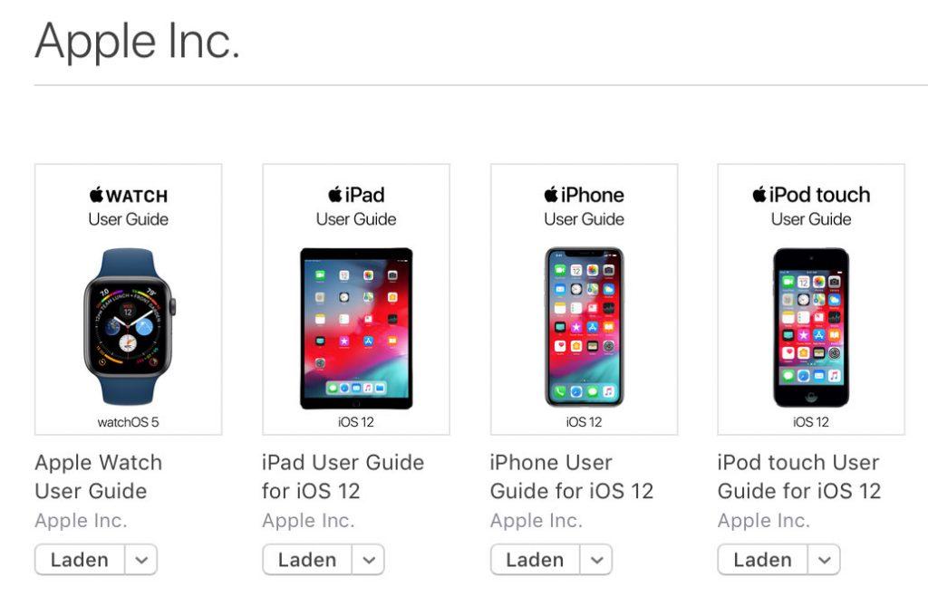 Apple Books Handbuch Ios 12