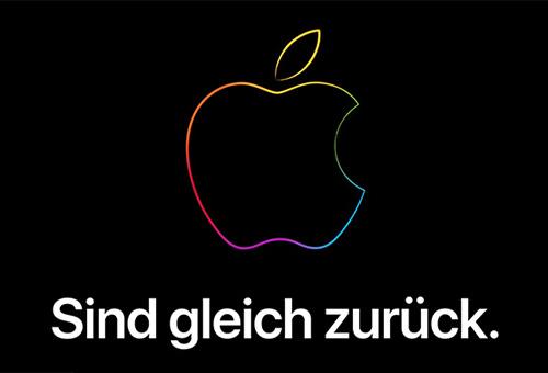 Apple Store Offline Sind Gleich Zurueck