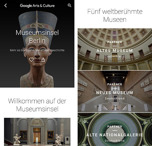 Google Arts Und Culture Museumsinsel