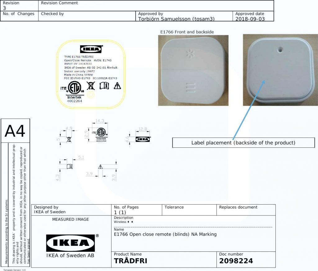Ikea Datenblatt