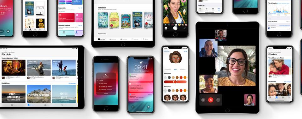 iOS 12 benötigt 12GB: Alle Neuerungen im Wortlaut