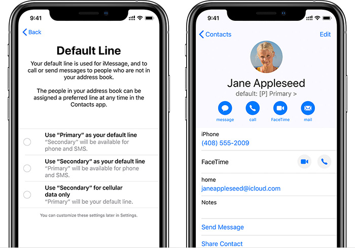 Iphone Dual Sim Kontakte Einstellungen