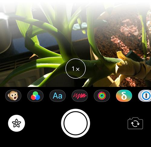 Nachrichten App Kamera