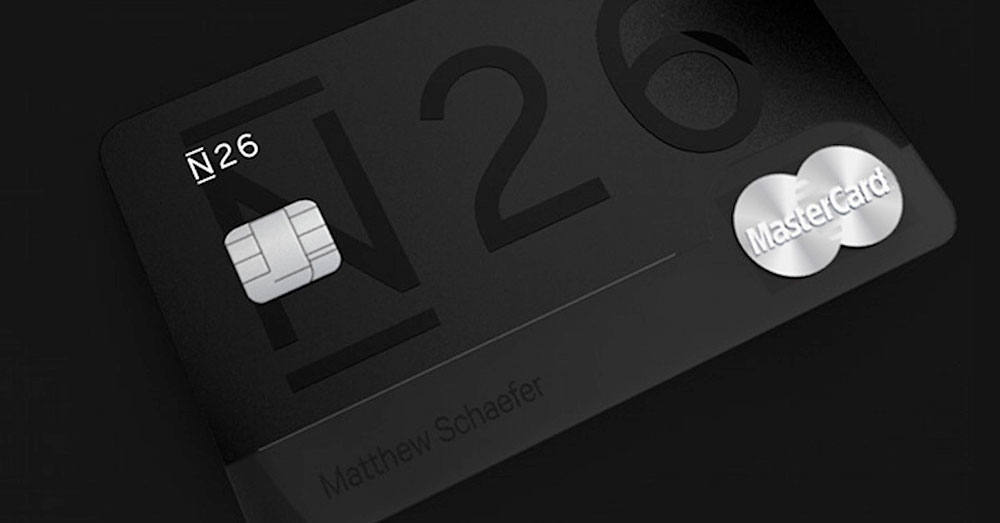 Schwarze Karte N26