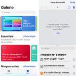Siri-Kurzbefehle selbst erstellen oder im Internet laden
