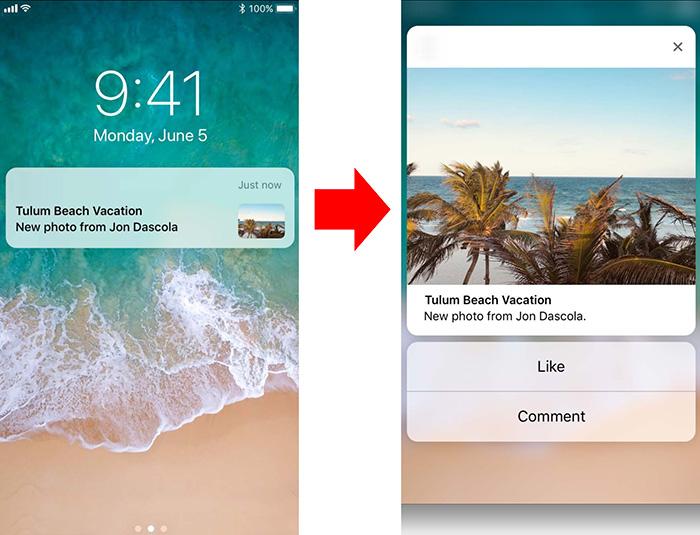 Whatsapp Ios Benachrichtigungen Bilder Vorschau