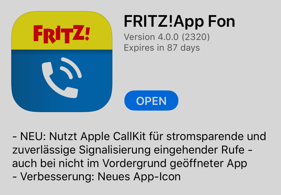 Avm Weihnachtskalender.Fritz App Fon Zum Download Version 4 Liefert Callkit Unterstützung