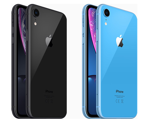 Iphone Xr Blau Schwarz