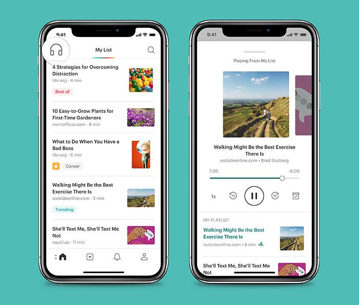 Pocket App Vorlesen Mit Amazon Polly