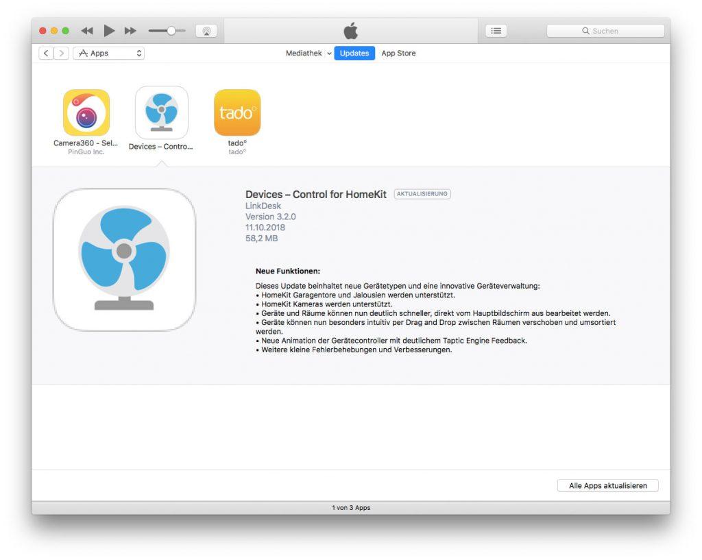 Updates App Store