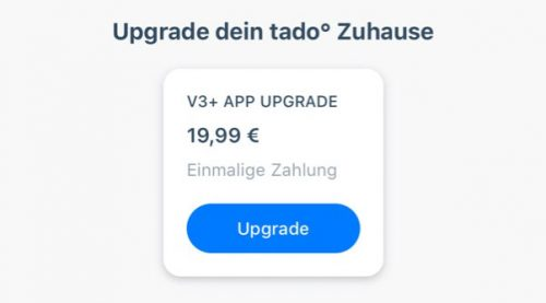 App Upgrade Tado