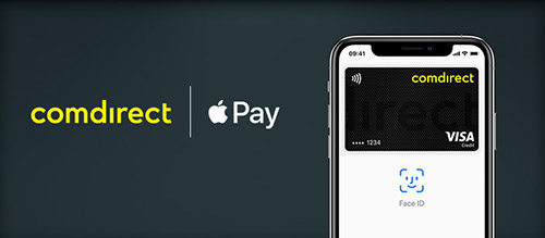 Comdirect Bank Apple Pay