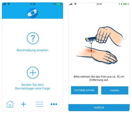 Hautarzt App
