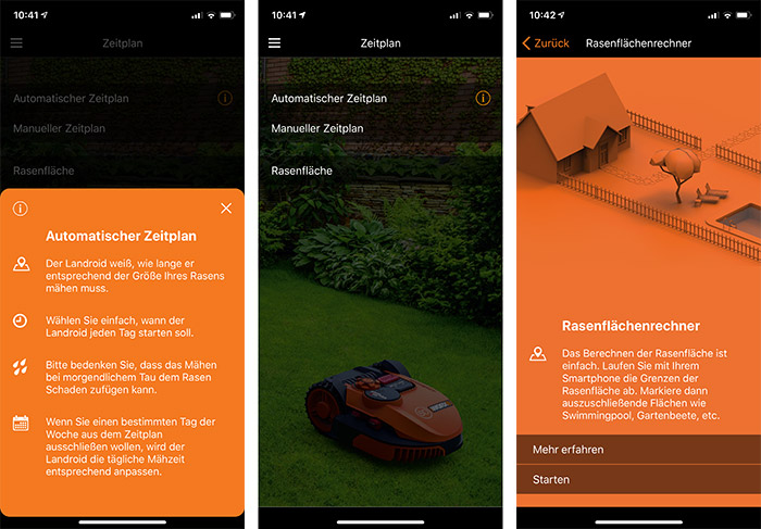Landroid App Screenshots 2