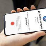 Google Assistant per Siri-Kurzbefehl starten