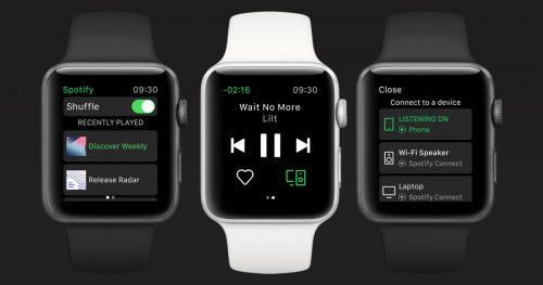 Spotify Watch Offiziell