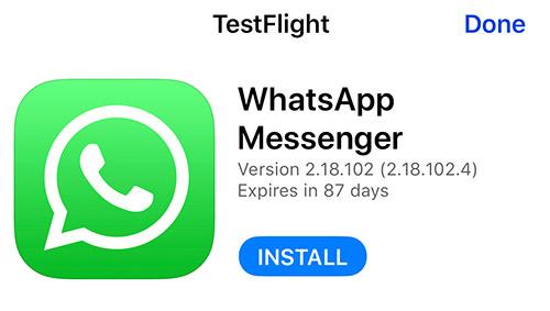 Whatsapp Beta Test Ios Iphone