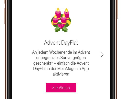 Advent Dayflat Telekom