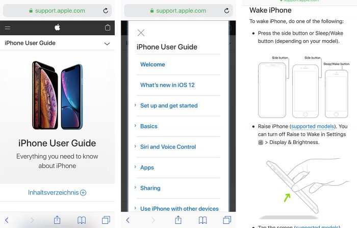 Apple Online Handbuch Neu
