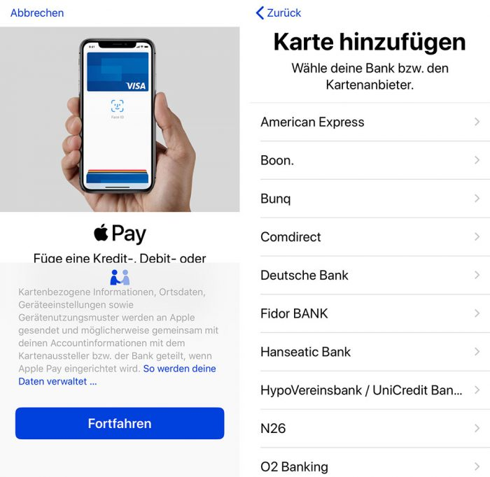 Apple Pay Deutschlan