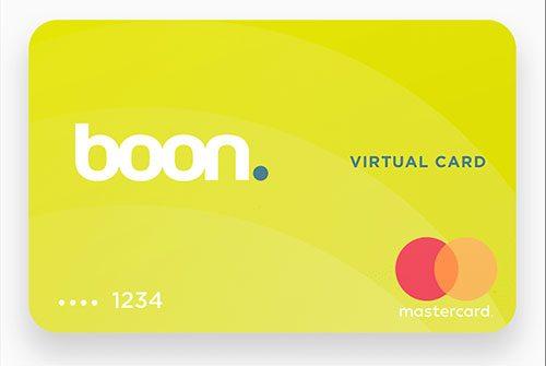 Boon Virtuelle Kreditkarte