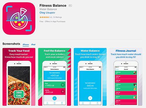 Fitness Balance App Oleg Usupov