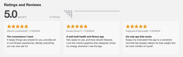 Fitness Balance App Oleg Usupov Bewertungen