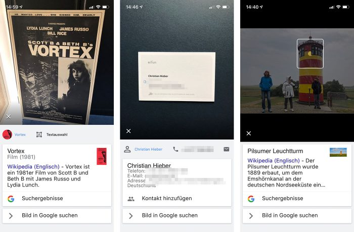 Google Lens Iphone Deutsch