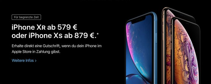 Iphone Xr Ab579 Euro Bei Apple