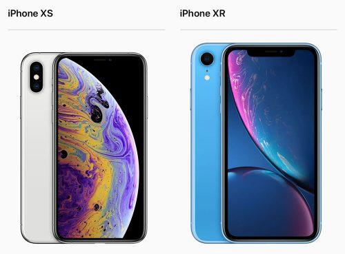 Iphone Xs Und Iphone Xr Apple Werbegrafik