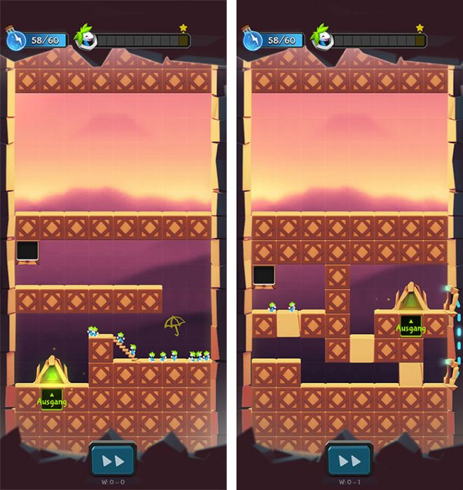 Lemmings Fuer Ios