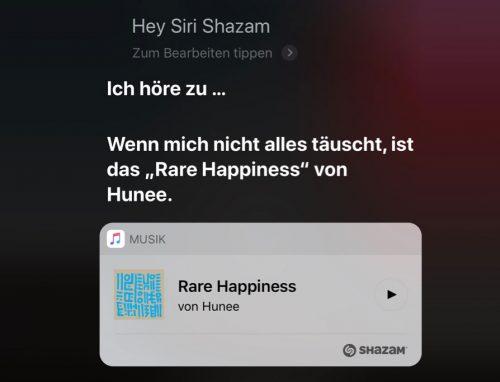 Siri Shazam